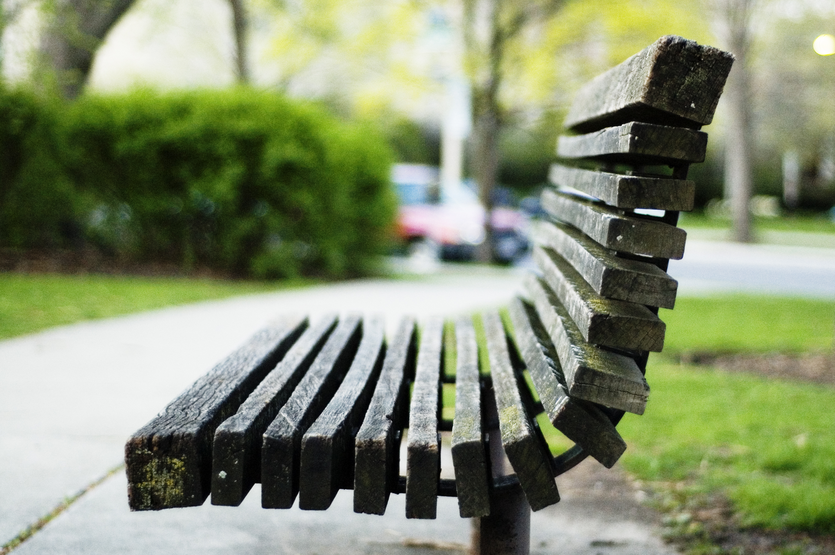 park bench design standards