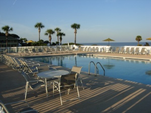 Oceanside Inn and Suites pool